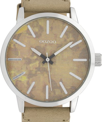 OOZOO Timepieces XL Brown Leather Strap