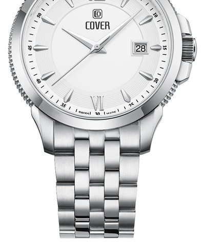 COVER Alston Silver Stainless Steel Bracelet